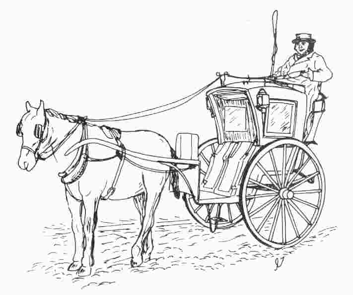 Horse And Carriage Drawing Horse Drawn Carriages