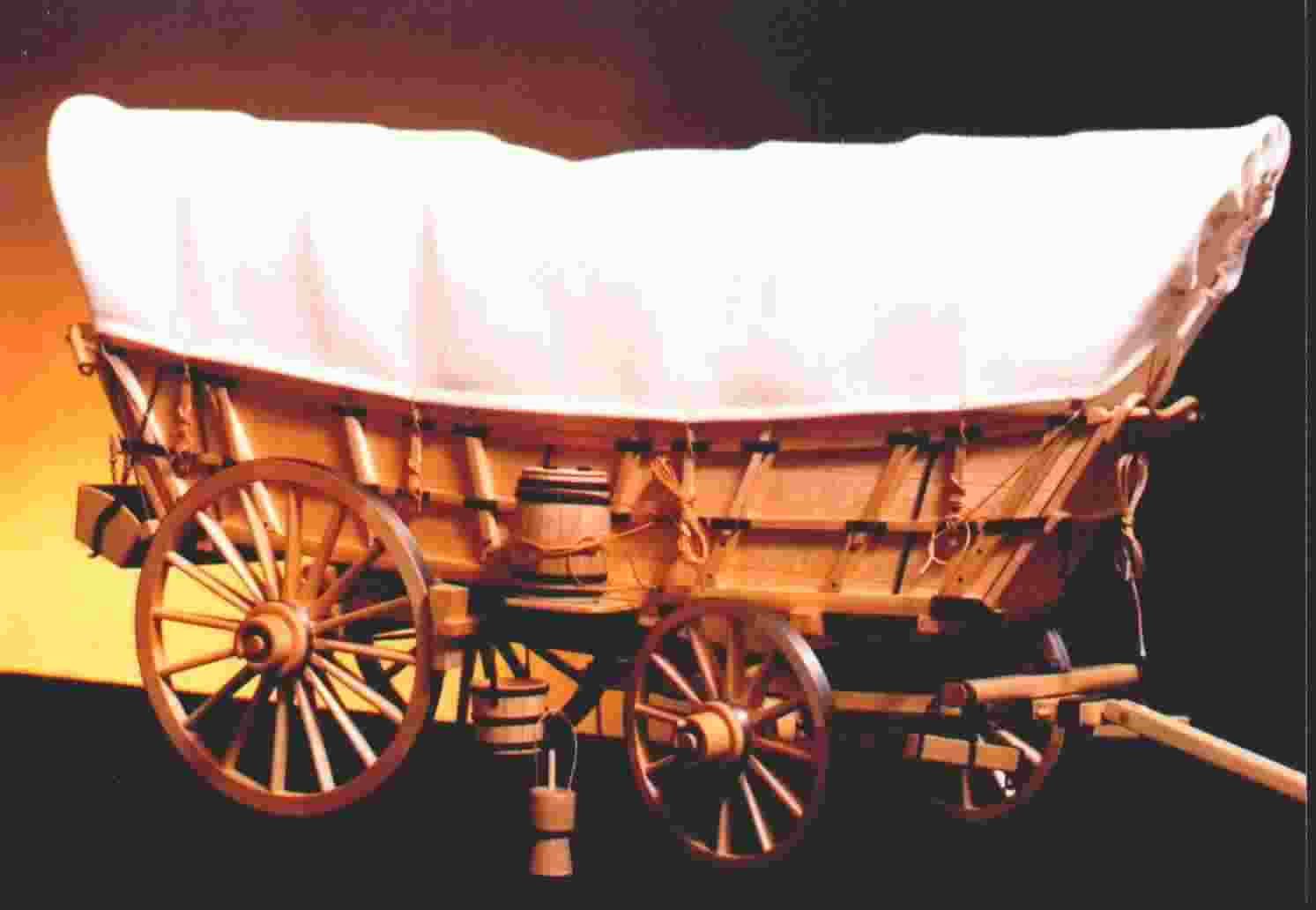 Miniature Covered Wagon Plans